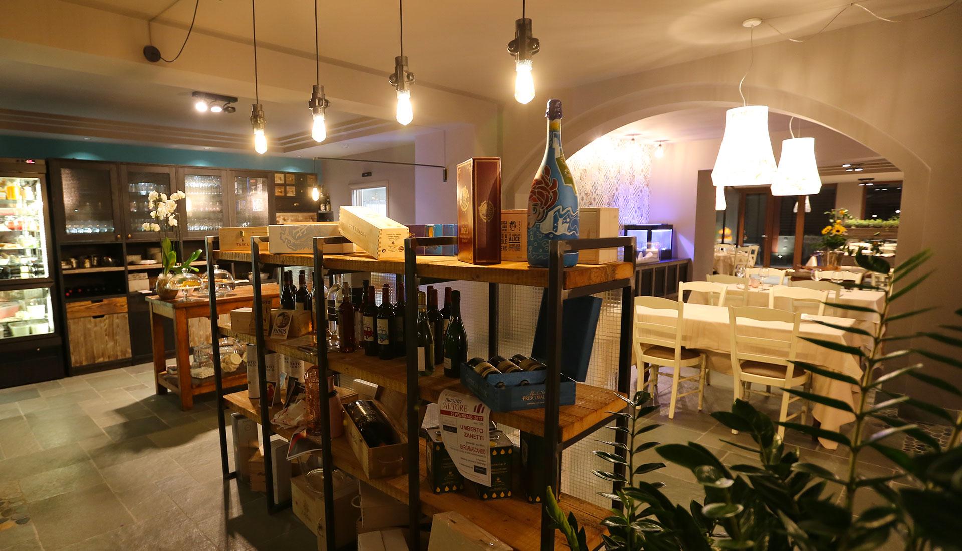 Illuminazione negozi bar e ristoranti metalfrigor